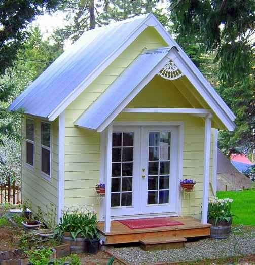 Садовый домик недорого своими руками фото 212