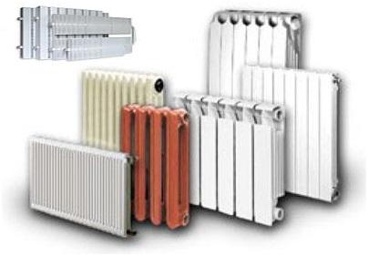 Все виды радиаторов