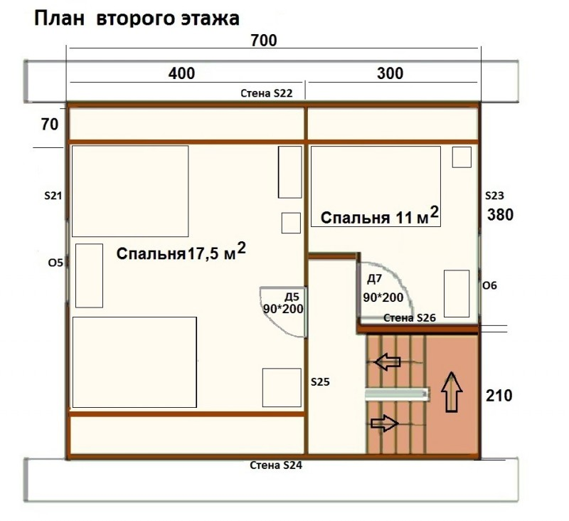 Строительство дома: рисуем