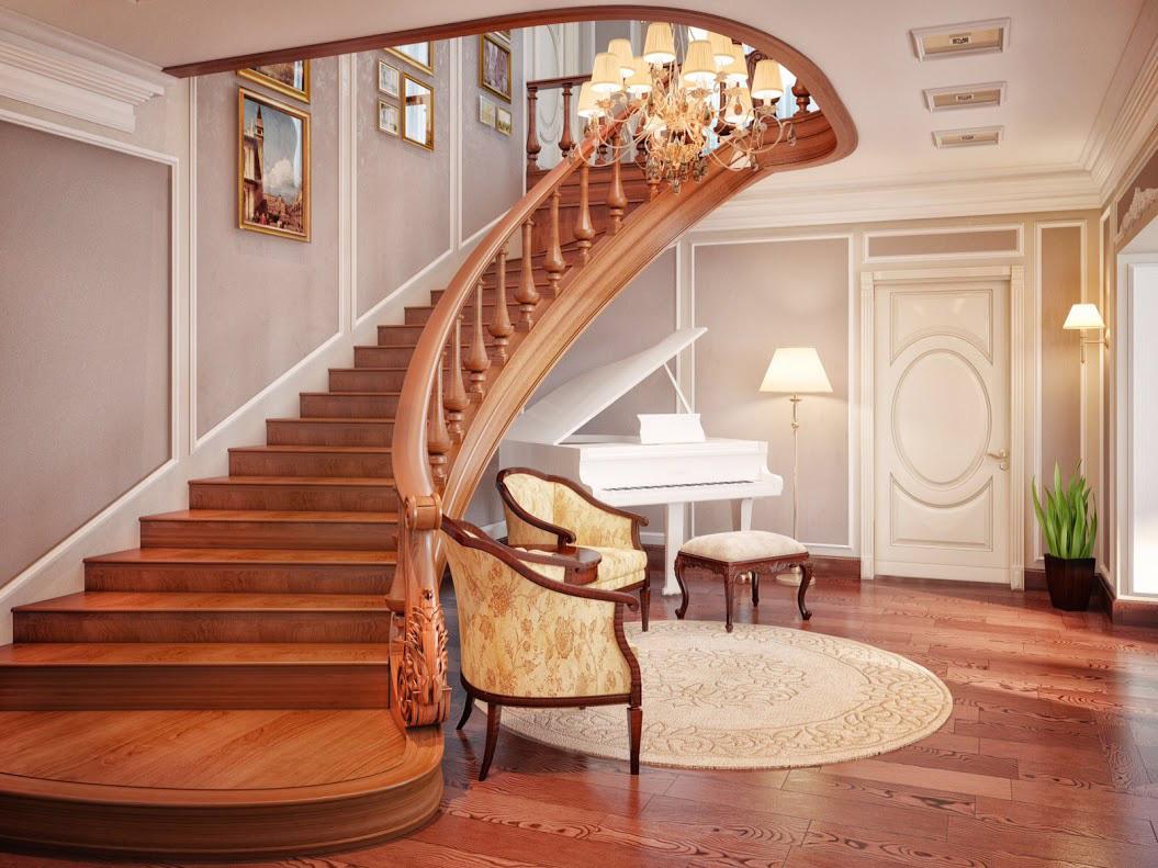с лестницами двумя домов фото