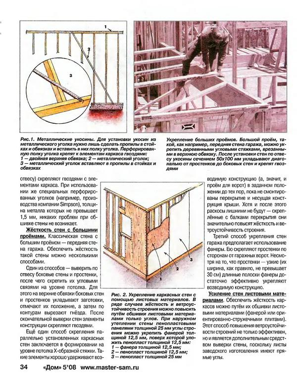 Строительство крепкого каркаса