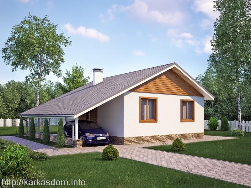 Проекты домов от 100 до 150 кв м - Средний дом до 150 м2 в