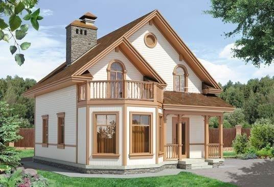 Внешний вид дома 8,5х9,7 148м/кв