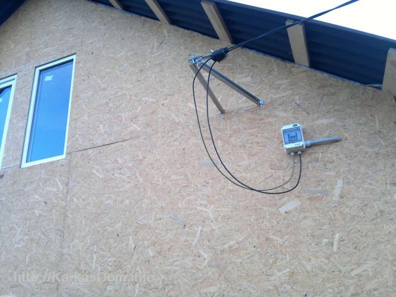 Правильный ввод электричества