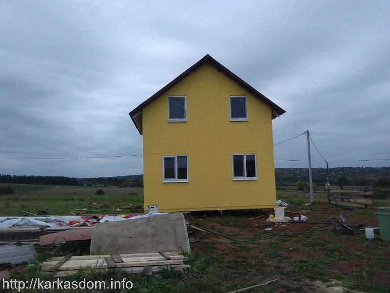 Фундамент для каркасного дома своими руками фото