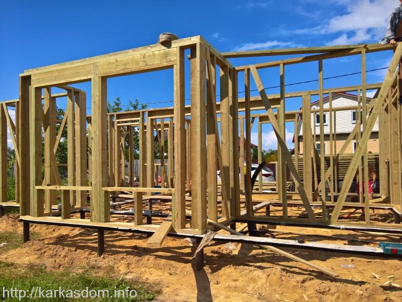 Всё о строительстве каркасных домов своими руками 871