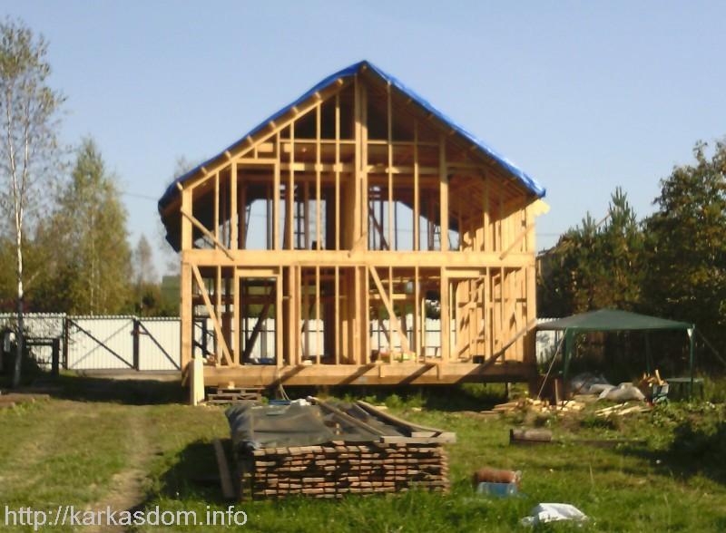Каркасный дом своими руками с нуля 118