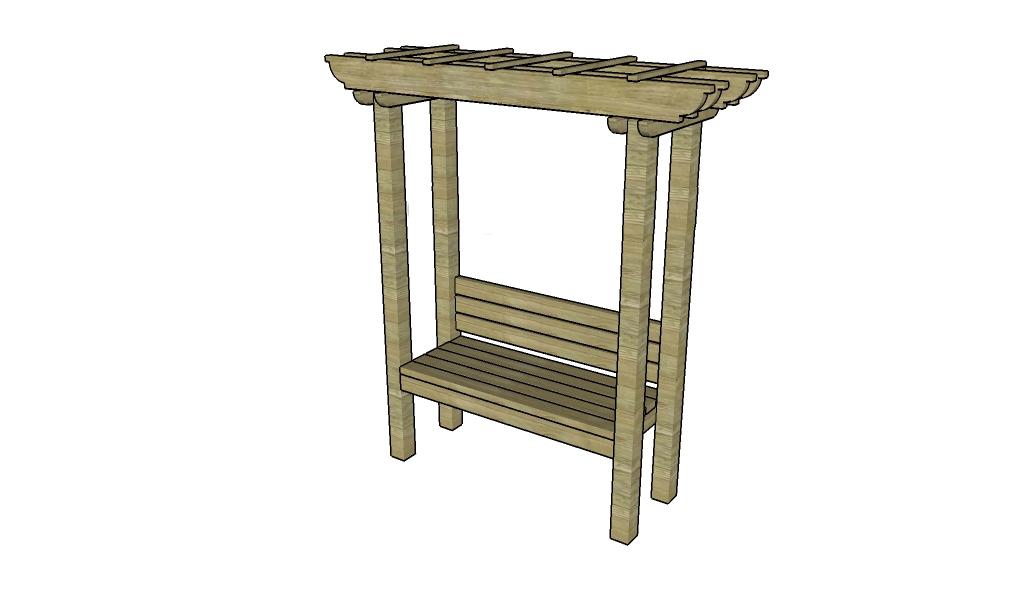 Садовая скамейка своими руками проект с чертежами